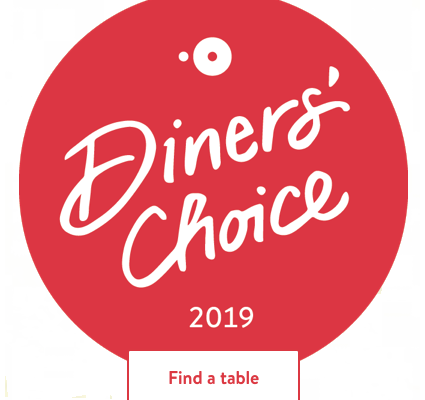 Diner's Choice Badge